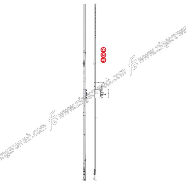 CREMONESE TESI ANTA/RIBALTA MONOANTA E40 GR10 2200-2400 mm. ZSL -SILVER prodotta da AGB