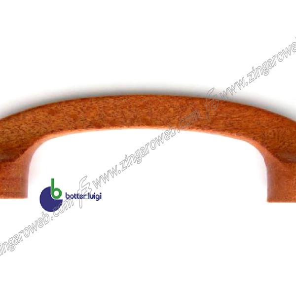 MANIGLIETTA MOBILE INTERRASSE 64 DA 75x25 mm. LEGNO PIATTA CILIEGIO prodotta da BOTTER