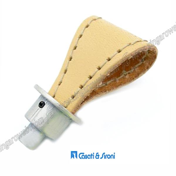 POMOLINO MOBILE CUOIO NATURALE DA 26x31 mm. CHAMPAGNE prodotto da CASATI & SIRONI