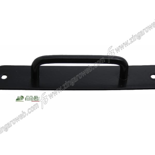 MANIGLIETTA FORI ESTERNI PERSIANA GIOTTO FE ZINC+RAL9005 NERO prodotta da DIDIEFFE
