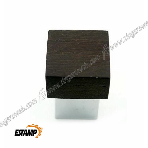 POMOLINO MOBILE LEGNO FAGGIO WENGUE CROMO DA 20x20x30 mm. prodotto da ESTAMP