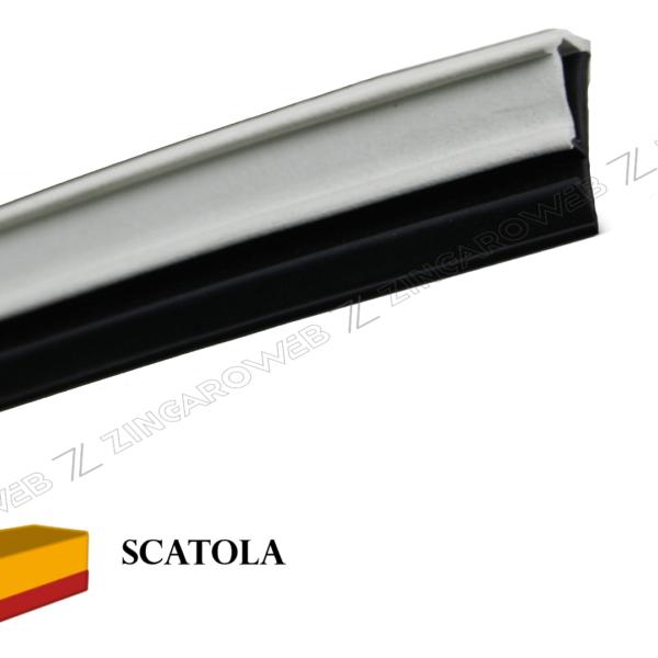 GUARNIZIONE EPDM DA 4x12 mm. DI BATTUTA NERO+BIANCO prodotto da MEUCO
